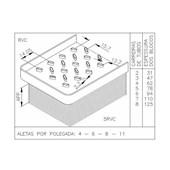 BLOCO CASE 580H - VISCONDE/MODINE
