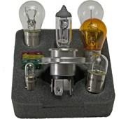 CONJUNTO LAMPADAS E FUSIVEIS PARA REPOSICAO 12V H4 / 7528(P21 / 5W) / 7506 (P21W) / 5007(W5W) 7507(P21W) / 3893(T4W) - HELLA