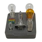 CONJUNTO LAMPADAS E FUSIVEIS PARA REPOSICAO 12V H7/ 7528 (P21 / 5W)/ 7506 (P21W)/ 5007 (W5W)/ 7507 (P21W)/ 2825(W5W) - HELLA