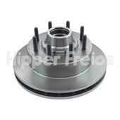 DISCO DE FREIOS DIANTEIRO FORD F250 XL/XLT 4.2 DIESEL / XL 4.2 V6 / 1998 A 2003 / F350 TODOS 1998 A 2003 COM/SEM ABS  - HIPPER FREIOS