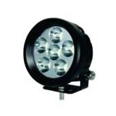 FAROL AUXILIAR HELLA VALUEFIT LED 6 LEDS MULTIVOLT (10-30V) 18W 1.000 LM LONGO ALCANCE - HELLA