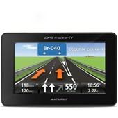 GPS MULTILASER TRACKER TV LCD 4,3 POLEGADAS TOUCH / 2GB / FM TTS E-BOOK - MULTILASER