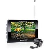 GPS MULTILASER TRACKER TV LCD 4,3 POLEGADAS TOUCH FM CAMERA DE RE AVIN - MULTILASER