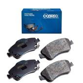 KIT 4 PASTILHA FREIO DIANTEIRO TOYOTA AURIS / COROLLA 1.8 / 06/12 / COROLLA 1.6/1.8 06/11 / COROLLA 1.8 16V GLI 10/14 - COBREQ