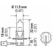LAMPADA H3 ALTA PERFORMACE 12V 55W HP 2.0 - HELLA