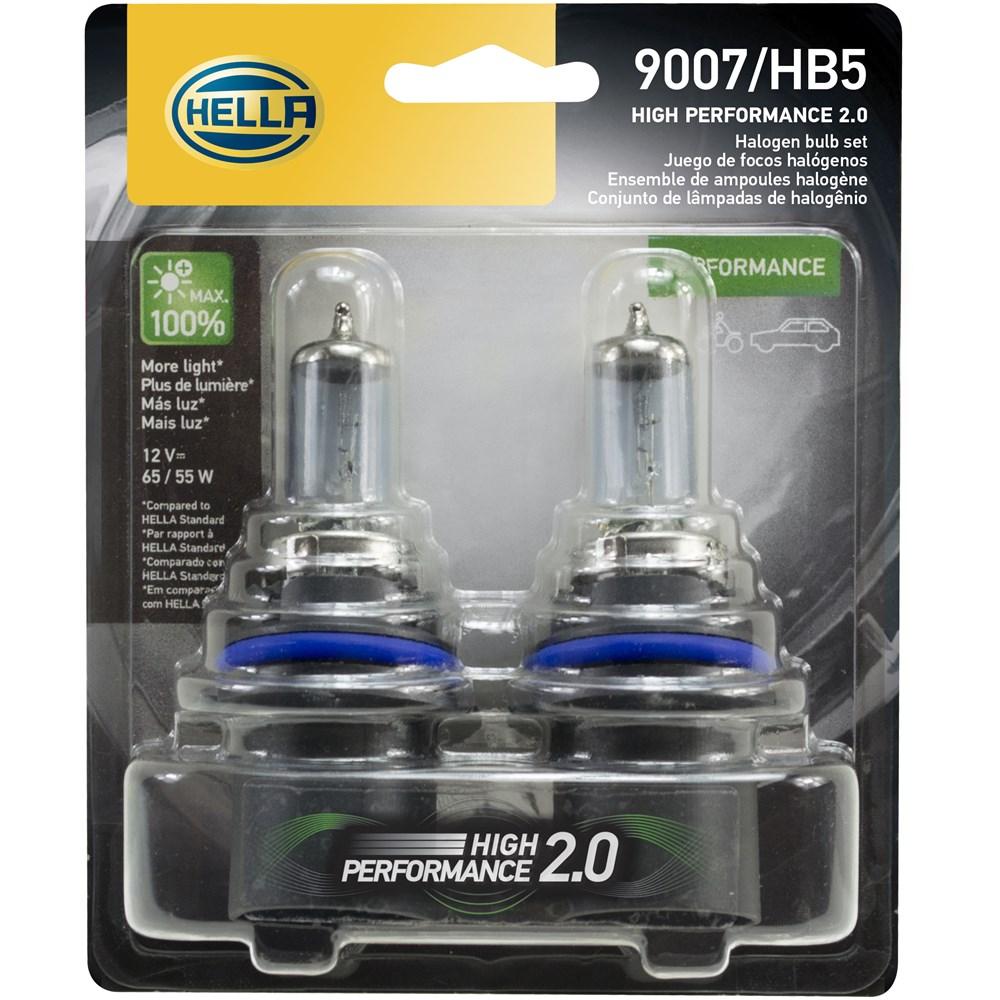 LAMPADA HALOGENA HB5 ALTA PERFORMACE 12V 65/55W HP 2.0 - HELLA
