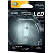 LAMPADA LED MINIATURA 6418 12V 1W SV8.5-8 5000K 36MM - HELLA